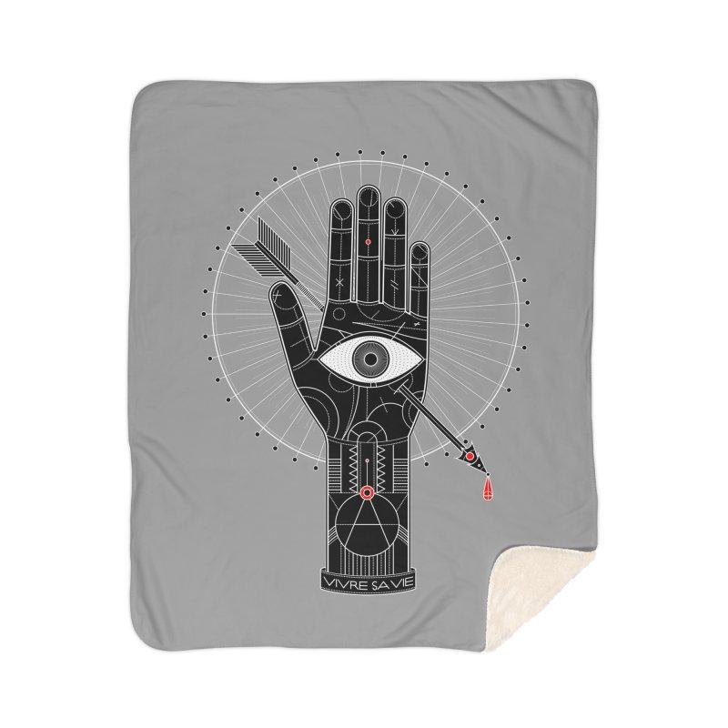 Vivre sa vie Home Sherpa Blanket Blanket by magicmagic