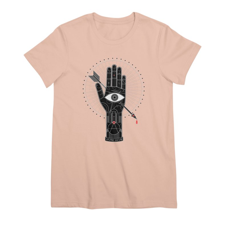 Vivre sa vie Women's Premium T-Shirt by magicmagic