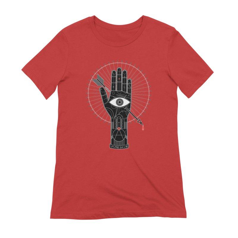 Vivre sa vie Women's Extra Soft T-Shirt by magicmagic