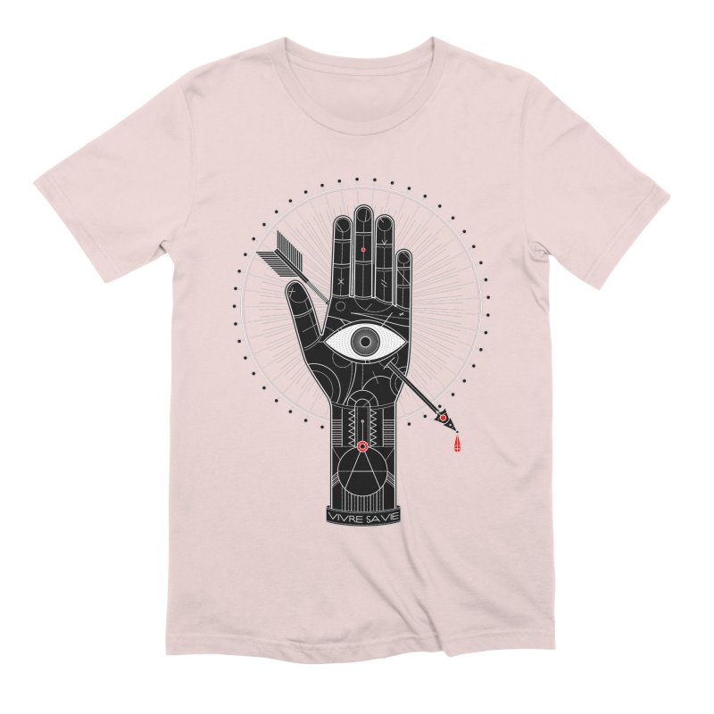 Vivre sa vie Men's Extra Soft T-Shirt by magicmagic