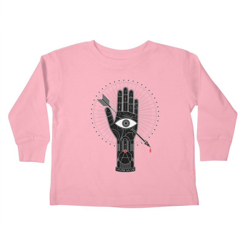 Vivre sa vie Kids Toddler Longsleeve T-Shirt by magicmagic