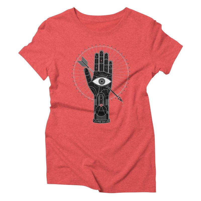 Vivre sa vie Women's Triblend T-Shirt by magicmagic