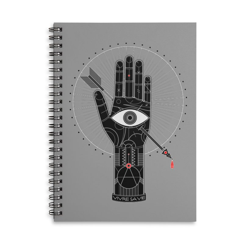 Vivre sa vie Accessories Lined Spiral Notebook by magicmagic