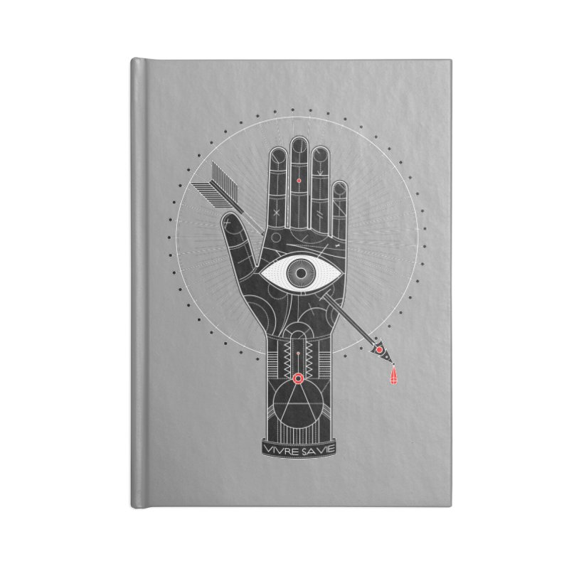 Vivre sa vie Accessories Lined Journal Notebook by magicmagic