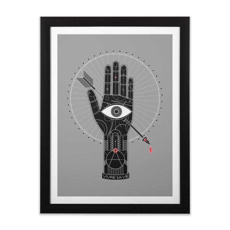 Vivre sa vie Home Framed Fine Art Print by magicmagic