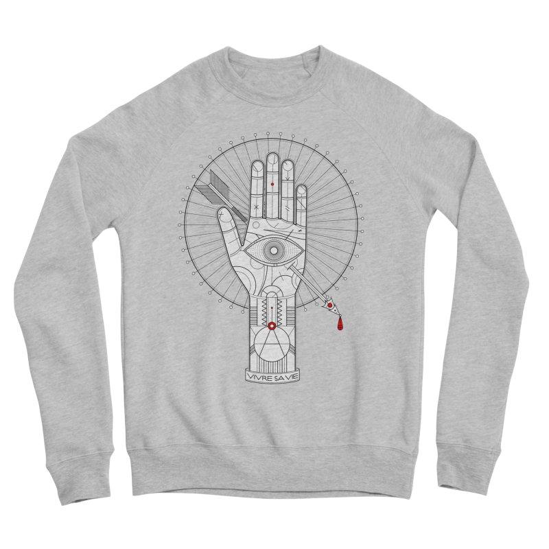 Vivre sa vie Men's Sponge Fleece Sweatshirt by magicmagic