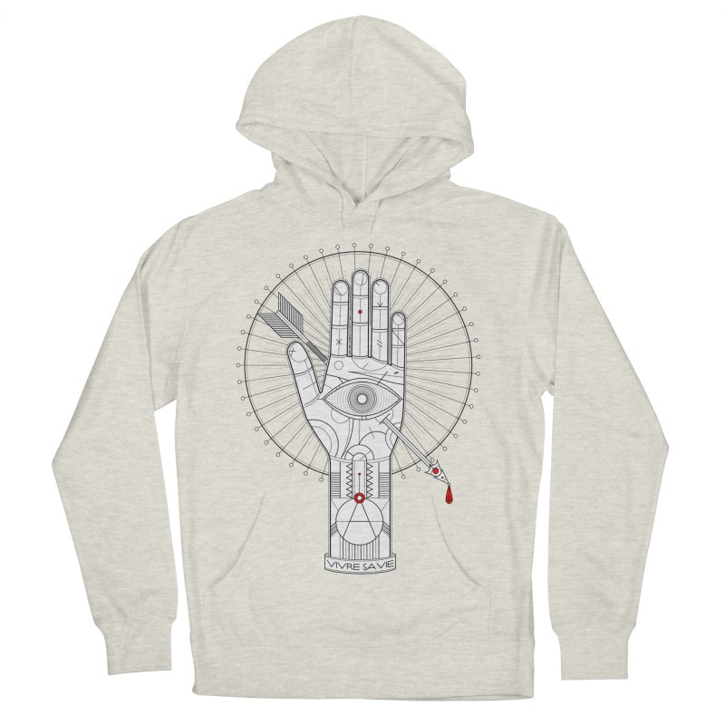 Vivre sa vie Men's French Terry Pullover Hoody by magicmagic