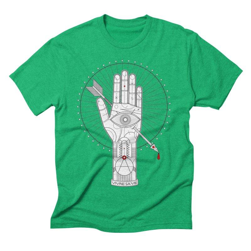 Vivre sa vie Men's Triblend T-Shirt by magicmagic