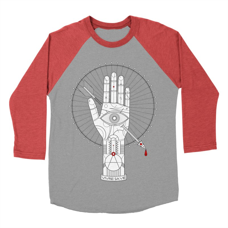 Vivre sa vie Women's Baseball Triblend Longsleeve T-Shirt by magicmagic
