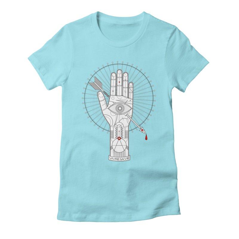 Vivre sa vie Women's Fitted T-Shirt by magicmagic