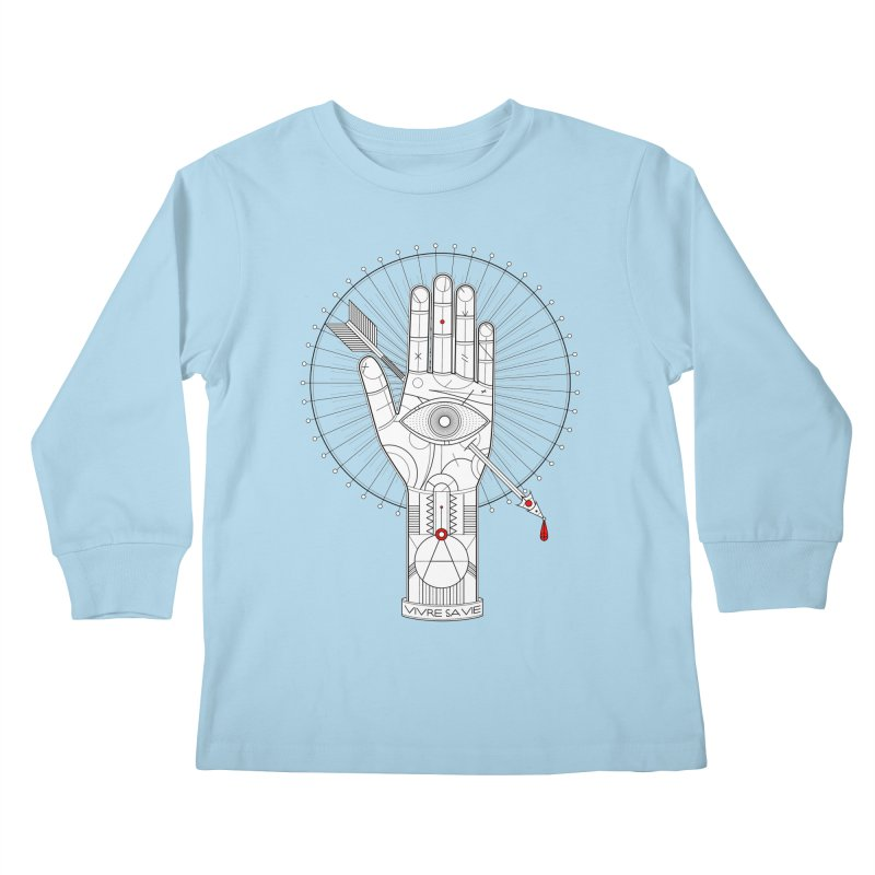 Vivre sa vie Kids Longsleeve T-Shirt by magicmagic