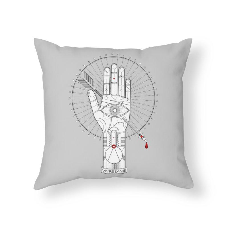 Vivre sa vie Home Throw Pillow by magicmagic
