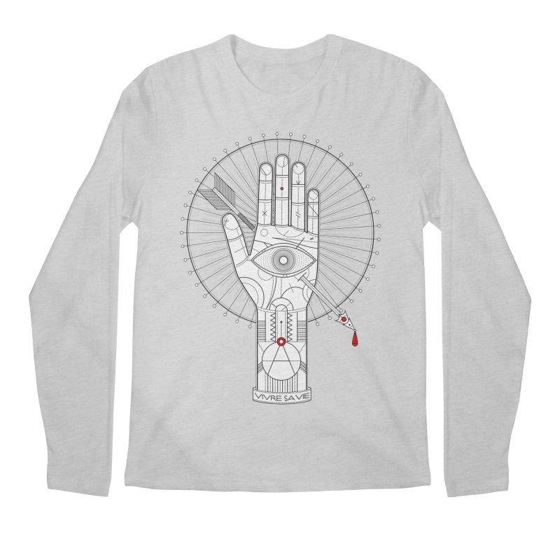 Vivre sa vie Men's Longsleeve T-Shirt by MagicMagic Artist Shop