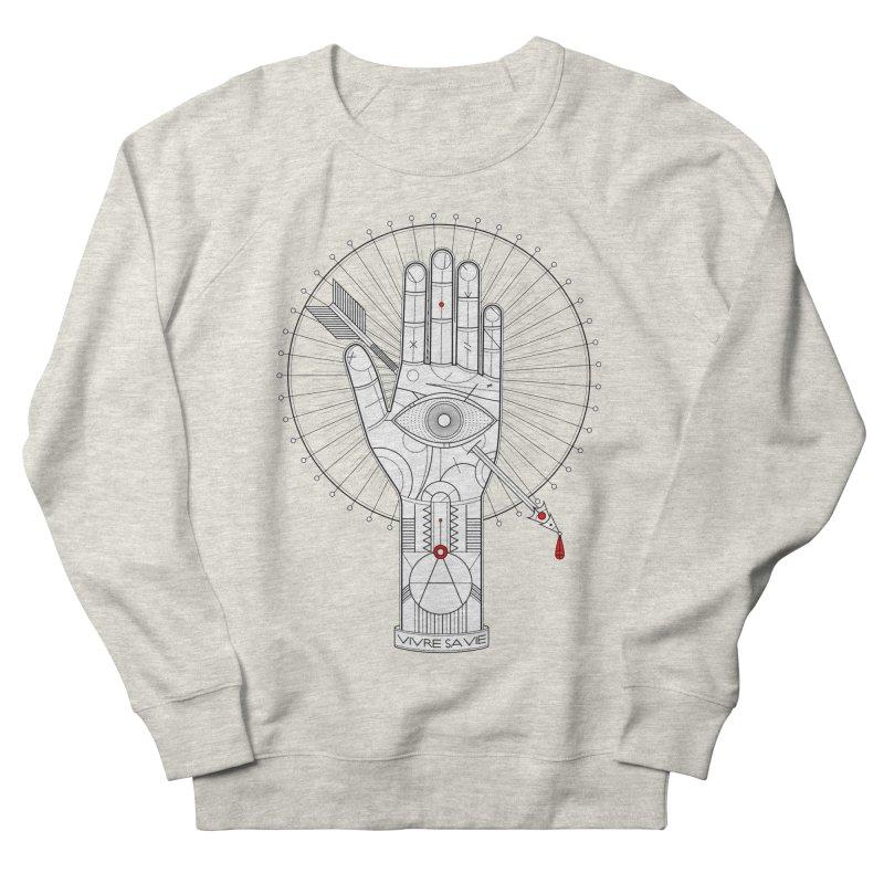 Vivre sa vie Men's Sweatshirt by MagicMagic Artist Shop