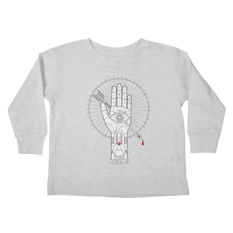 Vivre sa vie Kids Toddler Longsleeve T-Shirt by MagicMagic Artist Shop