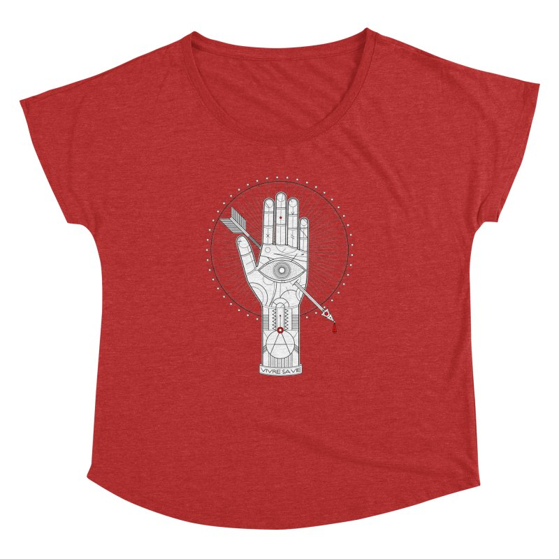 Vivre sa vie Women's Dolman by MagicMagic Artist Shop