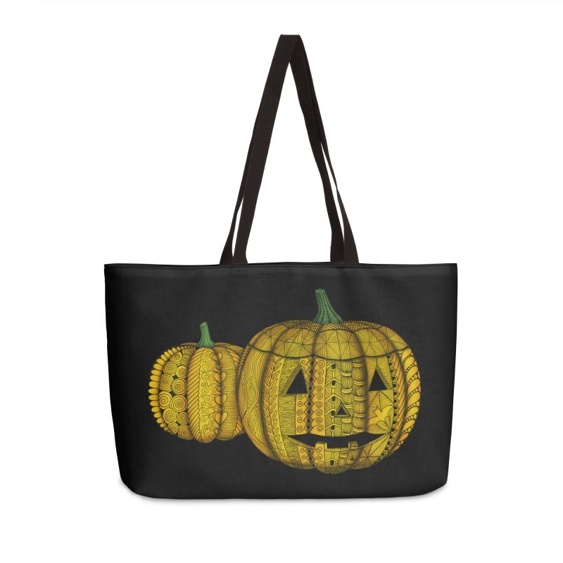 Jock-o-Lanterns in Weekender Bag by Magic Mama Handmade