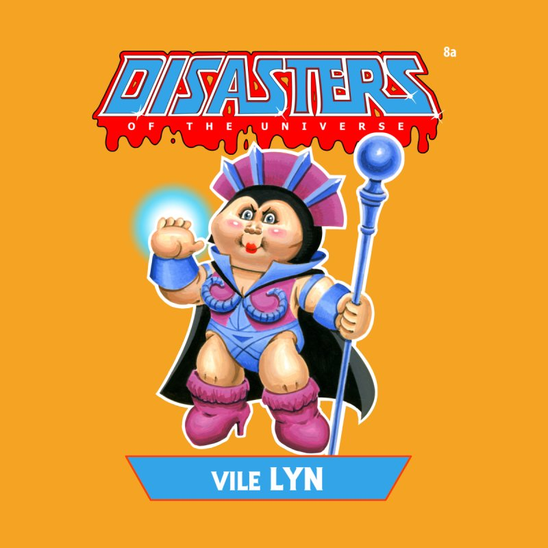 8a Vile LYN - Disasters of the Universe Men's T-Shirt by Magic Marker Art - Mark Pingitore