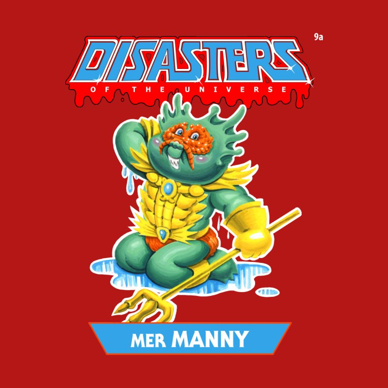 9a Mer MANNY - Disasters of the Universe Men's T-Shirt by Magic Marker Art - Mark Pingitore