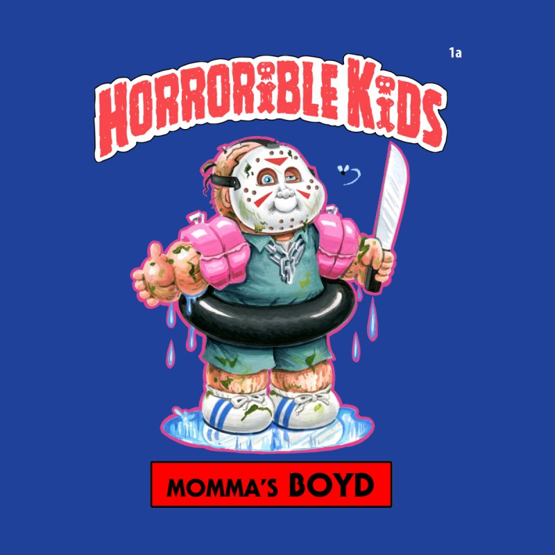 HK1a - Momma's BOYD Women's T-Shirt by Magic Marker Art - Mark Pingitore