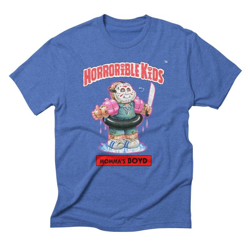 HK1a - Momma's BOYD Men's T-Shirt by Magic Marker Art - Mark Pingitore