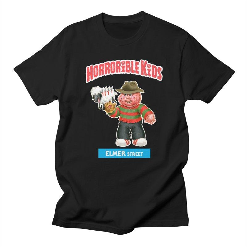 HK2a - ELMER Street Men's T-Shirt by Magic Marker Art - Mark Pingitore