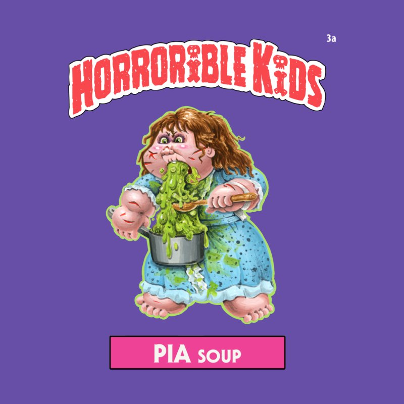 HK3a - PIA Soup Kids T-Shirt by Magic Marker Art - Mark Pingitore