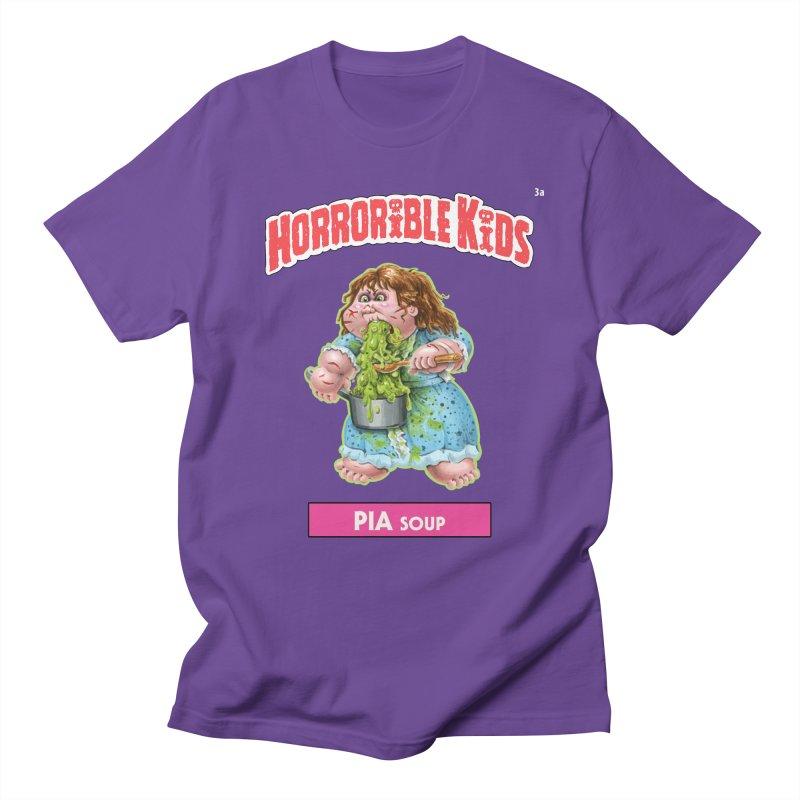 HK3a - PIA Soup Men's T-Shirt by Magic Marker Art - Mark Pingitore
