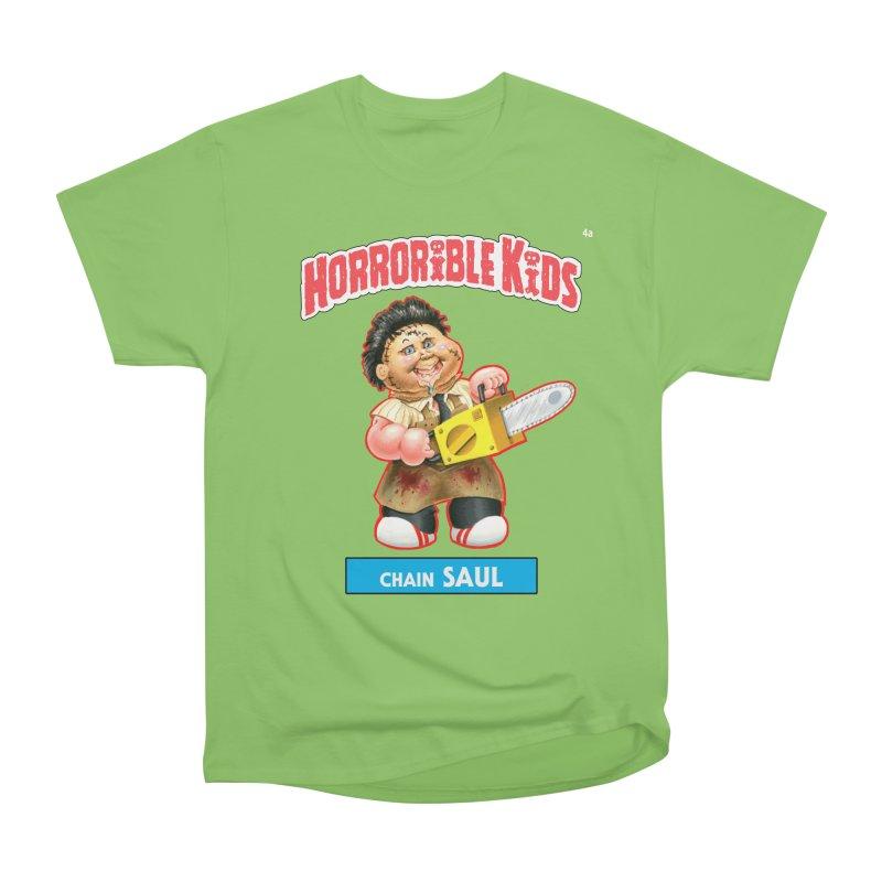HK4a - Chain SAUL Men's Heavyweight T-Shirt by Magic Marker Art - Mark Pingitore