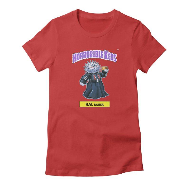 HK5a - HAL Raiser Women's T-Shirt by Magic Marker Art - Mark Pingitore