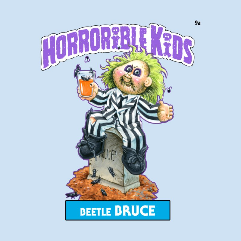 HK9a - Beetle BRUCE Kids T-Shirt by Magic Marker Art - Mark Pingitore