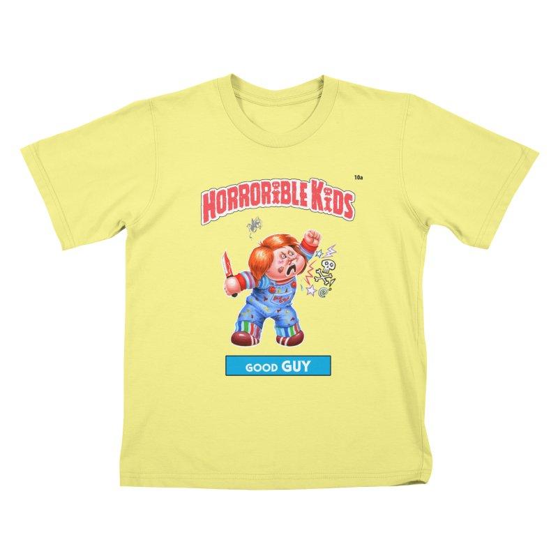 HK10a - Good GUY Kids T-shirt by Magic Marker Art - Mark Pingitore