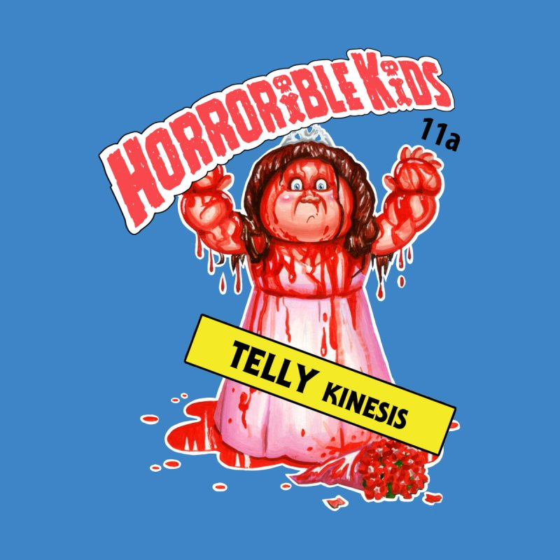 HK11a - TELLY Kinesis Kids T-Shirt by Magic Marker Art - Mark Pingitore