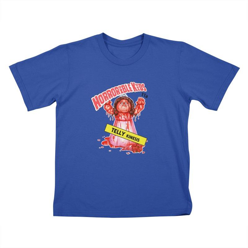 HK11a - TELLY Kinesis Kids T-Shirt by Magic Marker Art - Mark Pingitore