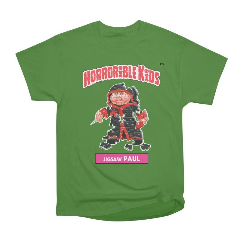 HK12a - Jigsaw PAUL Men's Classic T-Shirt by Magic Marker Art - Mark Pingitore