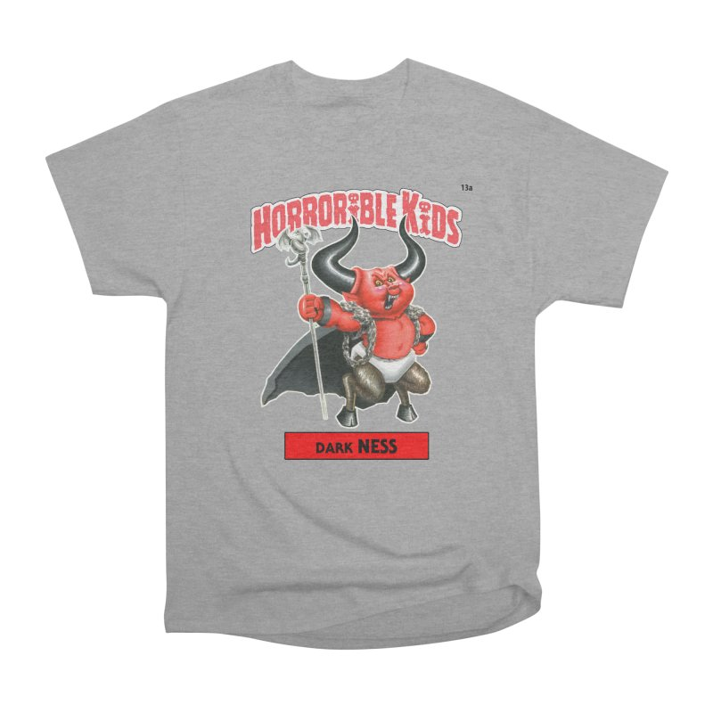 HK13a - Dark NESS Men's T-Shirt by Magic Marker Art - Mark Pingitore