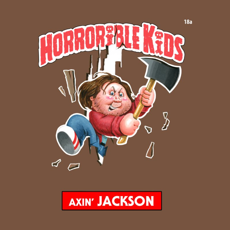 HK18a - Axin' JACKSON Kids T-Shirt by Magic Marker Art - Mark Pingitore