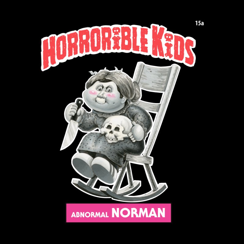 HK15a - Abnormal NORMAN Men's T-Shirt by Magic Marker Art - Mark Pingitore