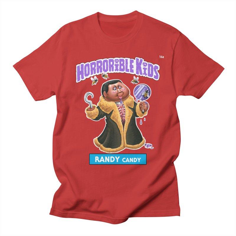 HK16a - RANDY Candy Men's T-Shirt by Magic Marker Art - Mark Pingitore