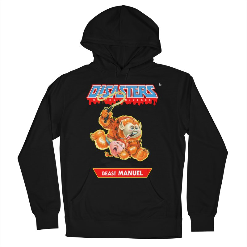 2a Beast MANUEL - Disasters of the Universe Men's Pullover Hoody by Magic Marker Art - Mark Pingitore
