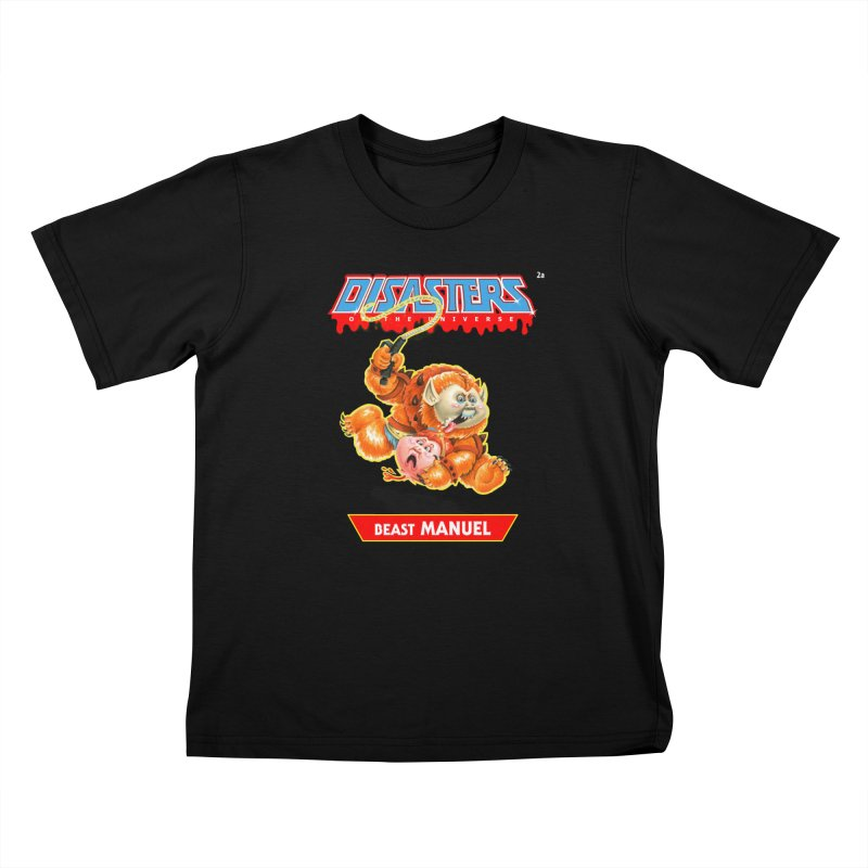 2a Beast MANUEL - Disasters of the Universe Kids T-Shirt by Magic Marker Art - Mark Pingitore