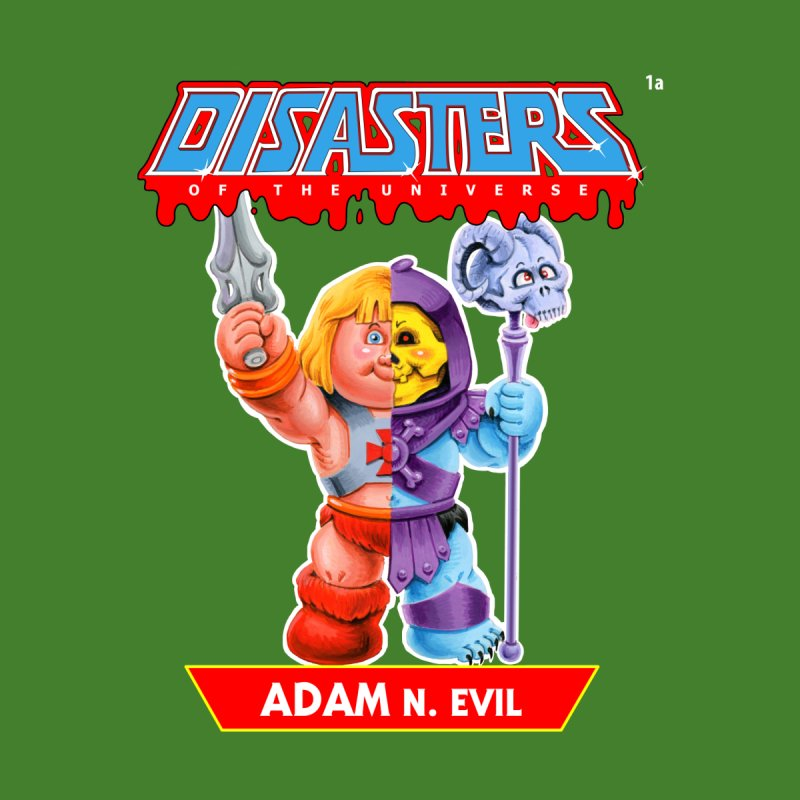 1a ADAM N. Evil - Disasters of the Universe Men's T-Shirt by Magic Marker Art - Mark Pingitore