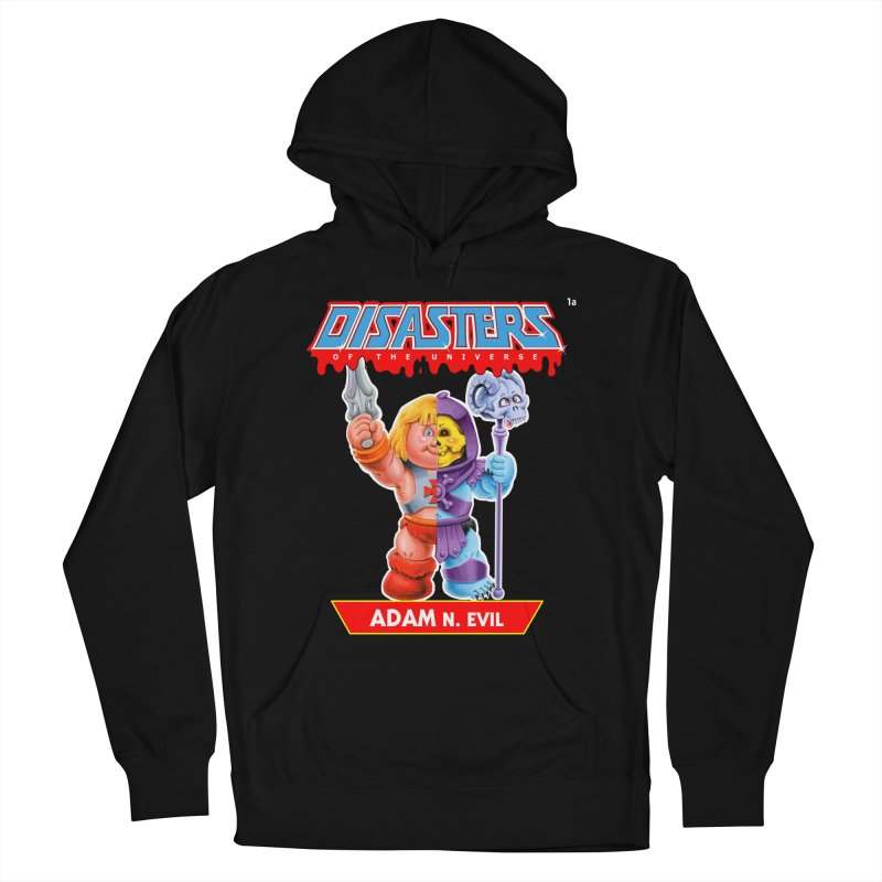 1a ADAM N. Evil - Disasters of the Universe Women's Pullover Hoody by Magic Marker Art - Mark Pingitore