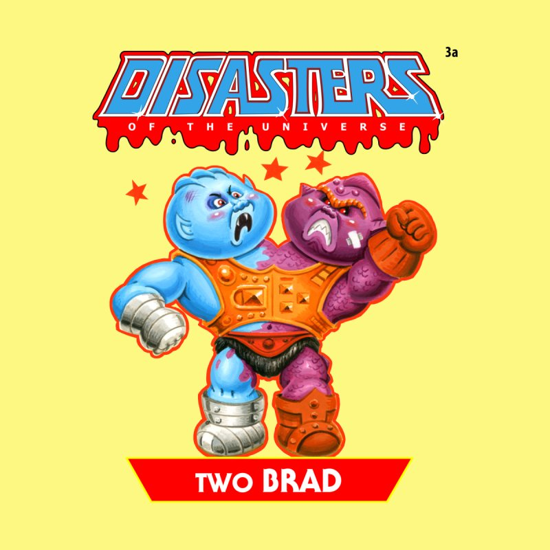 3a Two BRAD - Disasters of the Universe Men's T-Shirt by Magic Marker Art - Mark Pingitore