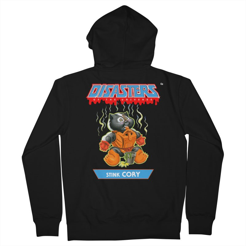 4a Stink CORY - Disasters of the Universe Women's Zip-Up Hoody by Magic Marker Art - Mark Pingitore
