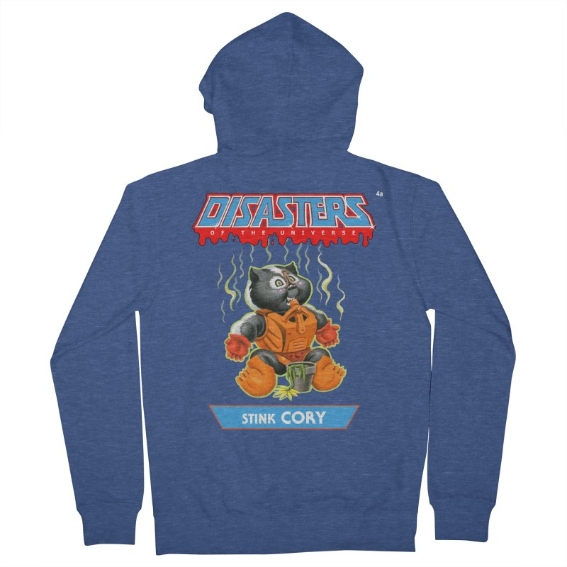 4a Stink CORY - Disasters of the Universe Men's Zip-Up Hoody by Magic Marker Art - Mark Pingitore