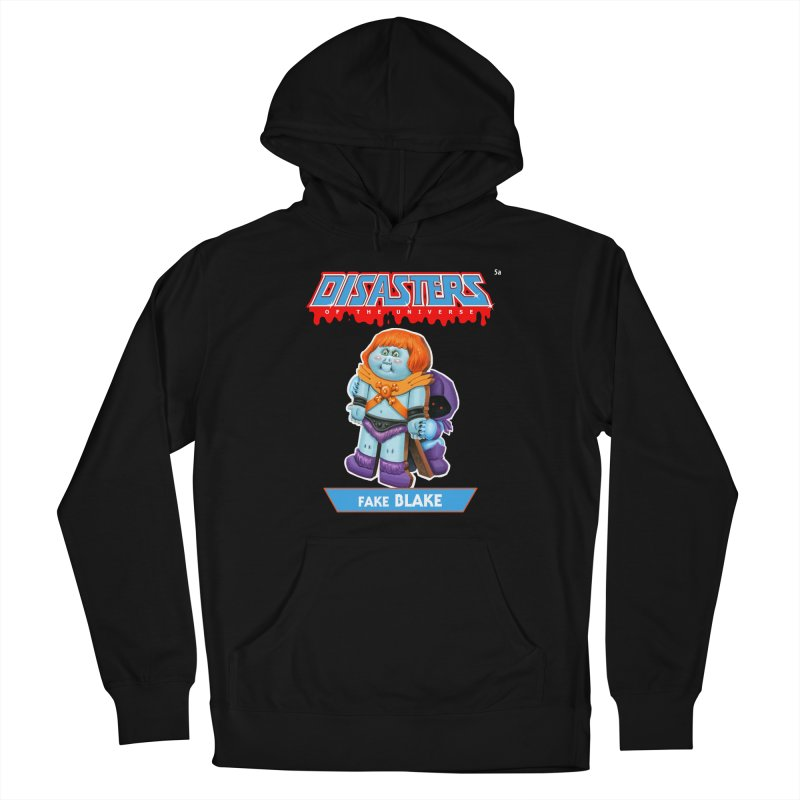 5a Fake BLAKE - Disasters of the Universe Women's Pullover Hoody by Magic Marker Art - Mark Pingitore