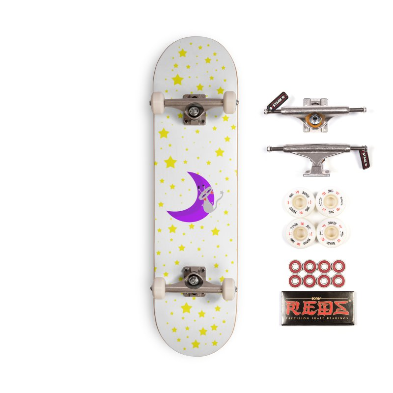 Princess Meera Sliding Down The Moon Accessories Complete - Pro Skateboard by Magic Pixel's Artist Shop