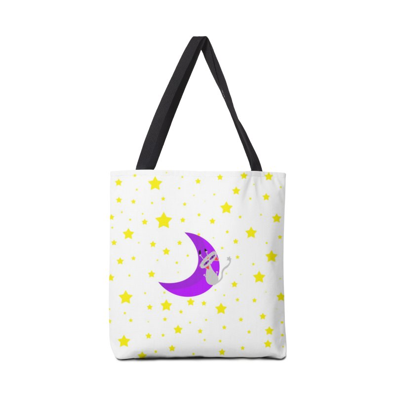 Princess Meera Sliding Down The Moon Accessories Bag by Magic Pixel's Artist Shop