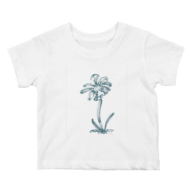 Futuristic Flower Kids Baby T-Shirt by Magic Pixel's Artist Shop